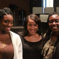 Ladies of the York College Broadcast Team