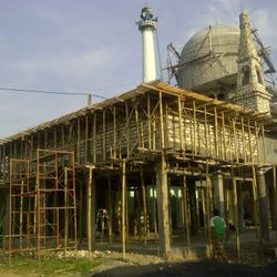 Extension of Bustanuddin Mosque (taken in Nov 2012)