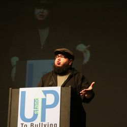 Shane Koyczan Award winning Canadian poet, author and performer