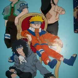 Naruto Group (Large 6'+)