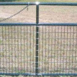 Powder Coated Wire Mesh Gate
