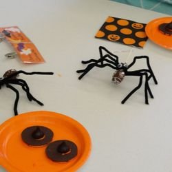 Spider Pops and Witch Hat Cookies - Yum!!