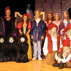 Cast of Snow White & the 7 Dwarfs