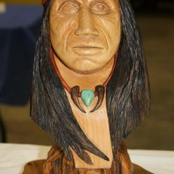 """Native American"" by Bryan Rhodarmer"