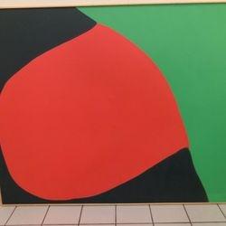 "late artist Geri Taper acrylic on canvas 66 x 86"""