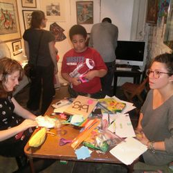 Eliots animation with children workshop at AfH Gallery