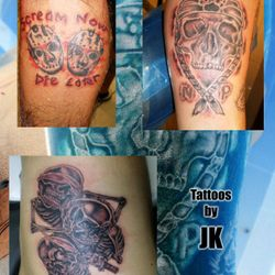 Skulls Tattoo by James King