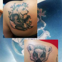 Bear tattoo by James King
