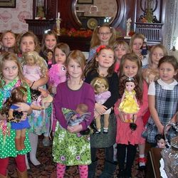 GSWPA Doll Tea at The Sutton-Ditz Museum 11-23-13