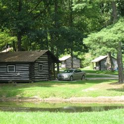 Indian Cabins, Cook Forest: On The National Register of Historic Places