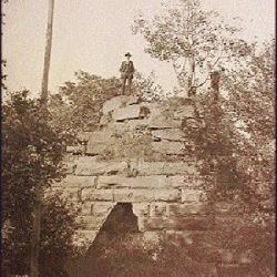 Helen Furnace Ruins, 1930.