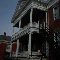 Back Double Colonnade Porch