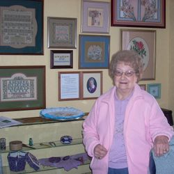 Featured exhibit: The Needlework of Dot Schwabenbauer.