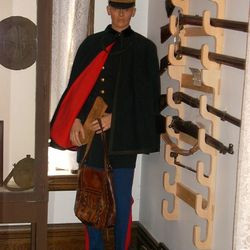 Col. Richmand's Spanish American War Uniform donated by Dr. David Humphrey