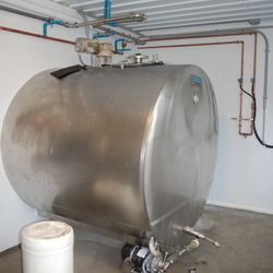 Bulk Milk Tank Installation