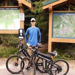 electric biking in whistler bc