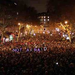Paris impressive Rally for Peace, Love and Tolerance in Europe