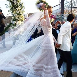 The wedding of the  Greek-Egyptian tycoon Karim El Chiaty and Brazilian supermodel Ana Beatriz Barros