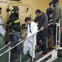 Syrian refugee, unaccounted, unlised aming the passengers, rescued by the operation