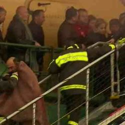first passengers rescued by the Norman Atlantic Rescue Operation