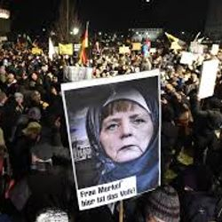 Dresden anti-islamic, anti-immigration protest