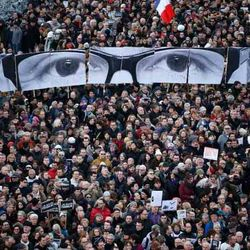 Paris, Charlie Hebdo, January 2015