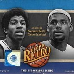 13/14 Fleer Retro Hobby $99.95/box