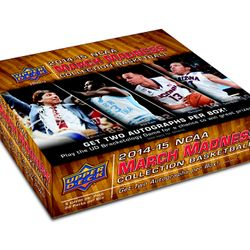14/15 UD March Madness Hobby $110/box