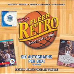 12/13 Retro $159.95/box + FREE 2014 Beckett price guide!
