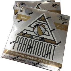14/15 Panini Paramount Hobby $259.95 per box