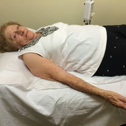 A 96 years old patient for arm numbs