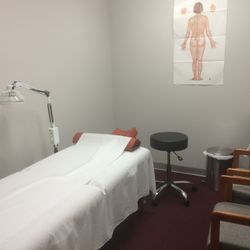 Treatment room 1 of clinic