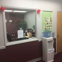 Reception room for clinic
