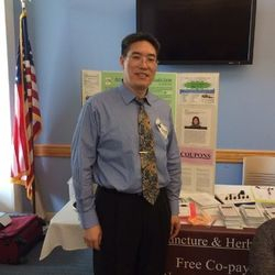 Dr. Liansheng Liu DA., MD., Ph.D. Presenting at Women & Infants Hospital 2014