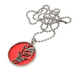 Bleach Otaku Anime Manga Ichigo Kurosaki Hallow Vizered Mask Pendant Medallion Necklace
