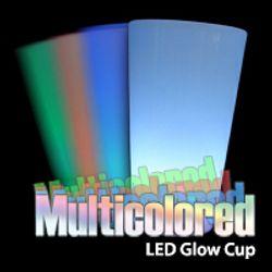 LED Multicolored Multicoloured 16 Ounce Oz Cups Color Change Colour Change