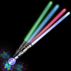 LED Projection Lightsaber Magic Staff