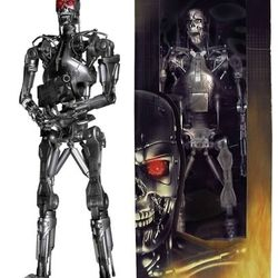 NECA 18 inch 1/4 Scale Terminator 2 Judgement Day Fully Articulated Cyberdyne Systems Model 101 T-800 Armored Hyper-Chasis
