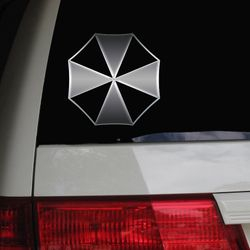 Umbrella Coproration Corp Resident Evil Capcom Video Game Movie Anime Otaku Manga Car Decal Sticker