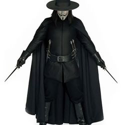 NECA 12 Inch Talking V for Vendetta Movie Action Figure Anonymous Guy Fawkes