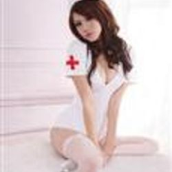 Naughty Head Nurse Sexy Cosplay Lingerie