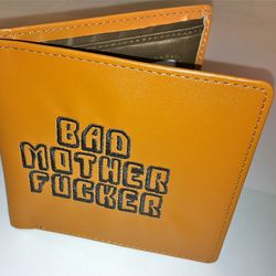 NECA Pulp Fiction Movie Samuel L. Jackson Jules Bad Motherfucker Wallet
