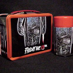 Friday the 13th NECA Metal Horror Lunch Box