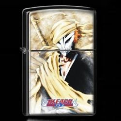 Bleach Otaku Anime Manga Ichigo Kurosaki Hallow Mask Vizered Soul Reaper Shinigami Metal Oil Lighter