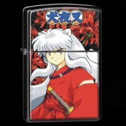 InuYasha Otaku Anime Manga Metal Oil Lighter