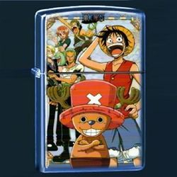 One Piece Otaku Anime Manga Crew Monkey P. Luffy Metal Oil Lighter