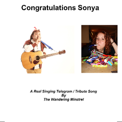 CD cover for Real Singing Telegram