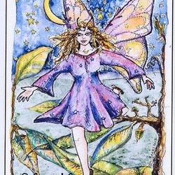 Little Leaf Hopper, watercolor by Linda.