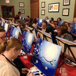 Paint nights at local venues