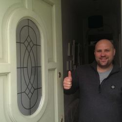 Thumbs up as this customer saved £160 on what one company quoted him, he used Taylors Locksmiths and now give us the thumbs up!
